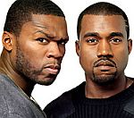 50 Cent Gives Kanye West Advice After Airport Arrest