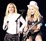 Britney Spears Joins Madonna Onstage In LA