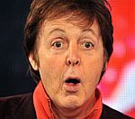 Sir Paul McCartney Mobbed By Fans At Album Signing