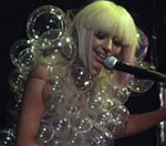 Lady GaGa Gets Wrapped In Bubbles On US Tour