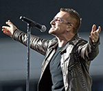 U2 Debut New Song 'Glastonbury' At Comeback Gig