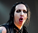 Marilyn Manson Ingests Drugs and Alcohol To Beat Swine Flu