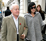 Lily Allen Takes Her Granddad To Radio 1 Studios
