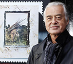 Led Zeppelin's Jimmy Page Attends Launch Of Royal Mail Classic Album Stamps