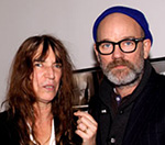 R.E.M's Michael Stipe Joins Patti Smith At Exhibition Launch