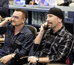 Bono And The Edge 'Proud' Of U2's Spider-Man Musical