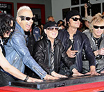 Scorpions Inducted Into Rock Walk Of Fame
