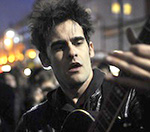 Black Rebel Motorcycle Club Singer Serenades Fans Outside Electric Ballroom