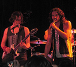 Russell Brand And Carl Barat Play Debut Gig In Los Angeles