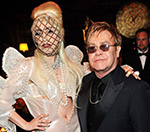 Lady Gaga 'Honoured' To Be Elton John Son's Godmother