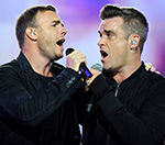 Take That's Robbie Williams And Gary Barlow In 'Diet Battle'