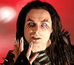 Cradle Of Filth Singer Banned From Poll For Being Inappropriate