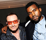 Kanye West And U2's Bono Record Song 'Skyscrapers' Together